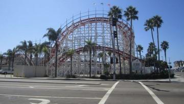 Giant Dipper Roller Coaster Belmont Park