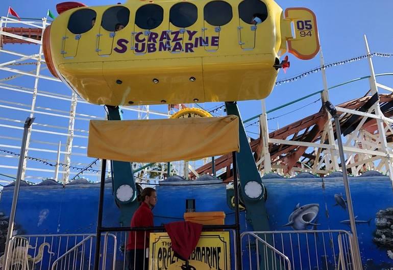 Belmont Park Crazy Submarine