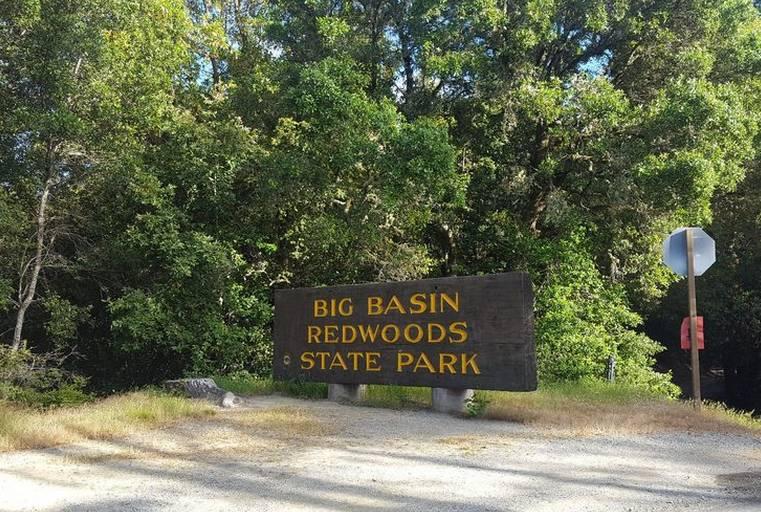 Big Basin Redwoods Entrance