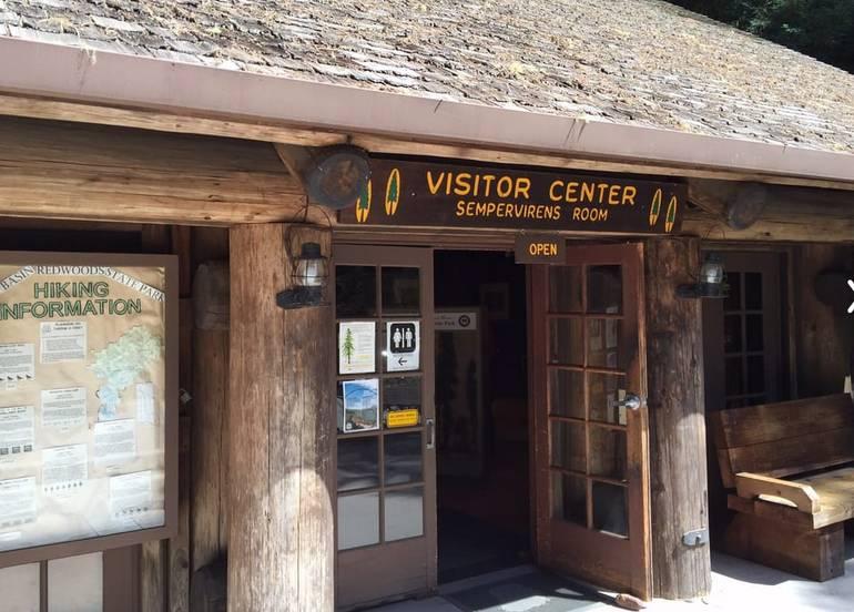 Basin Redwoods State Park Visitor Center