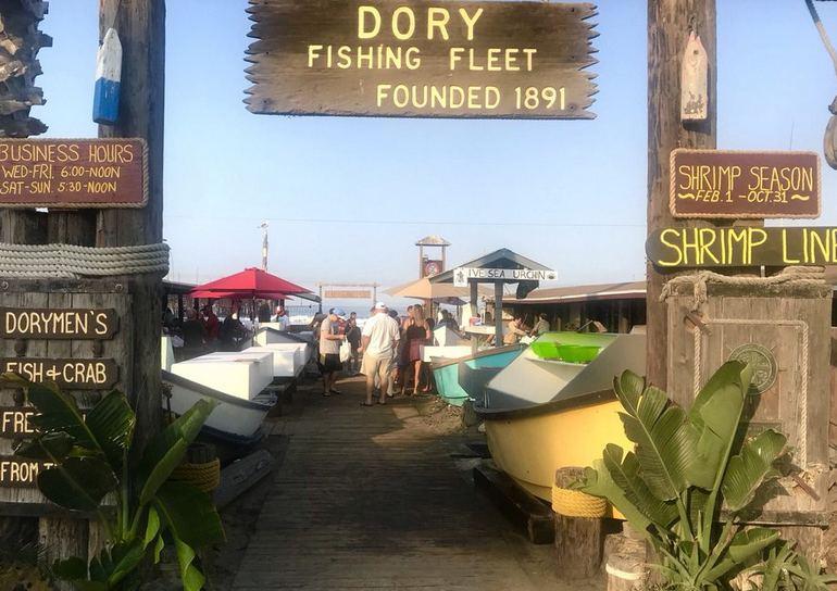 Newport Beach Dory Fleet – Seafood Market