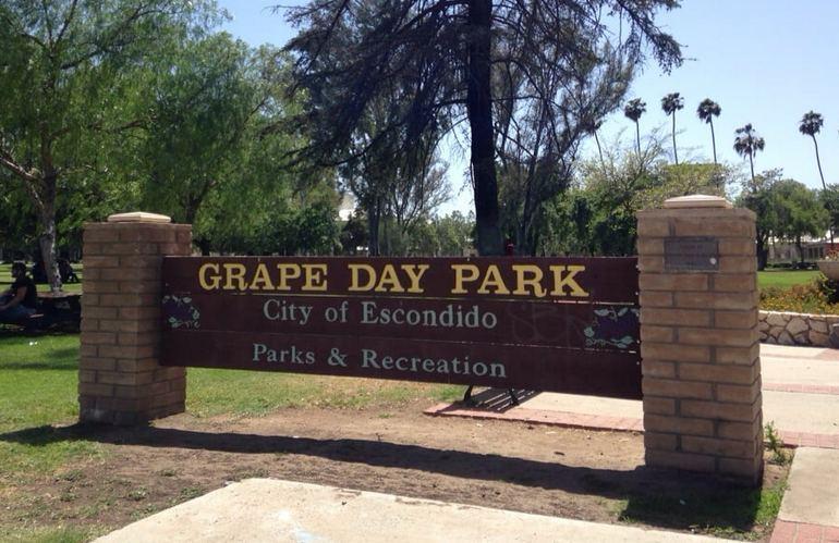 Grape Day Park Escondido