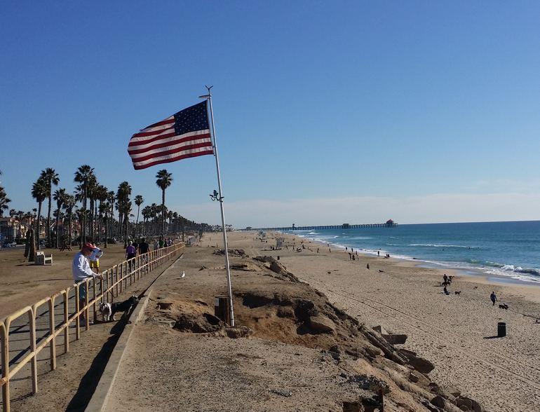 Huntington Beach Bike Trail