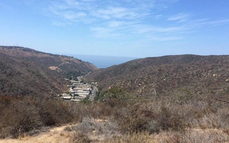 Laguna Canyon Road