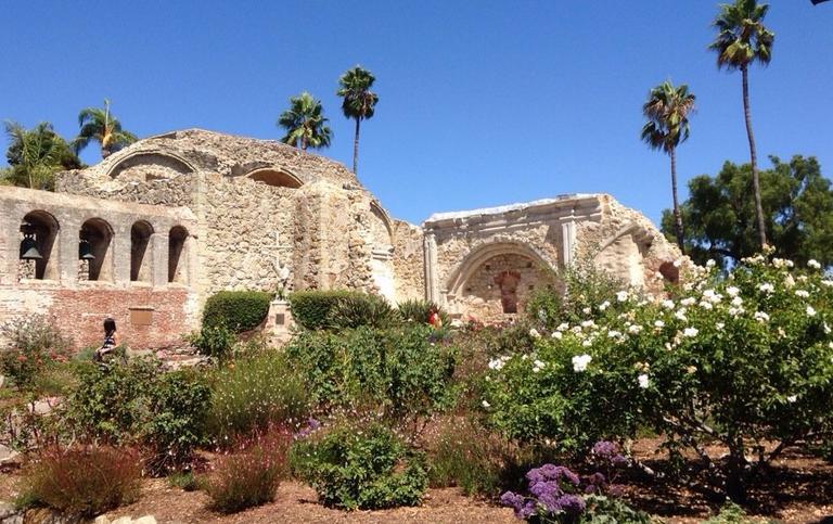 Mission San Juan Capistrano Great Stone Church