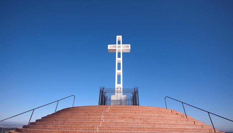 Mount Soledad La Jolla California