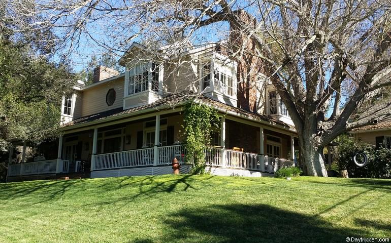 Myrtle Creek Botanical Gardens Plantation House