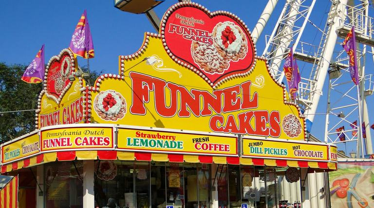 OC Fair Funnel Cake