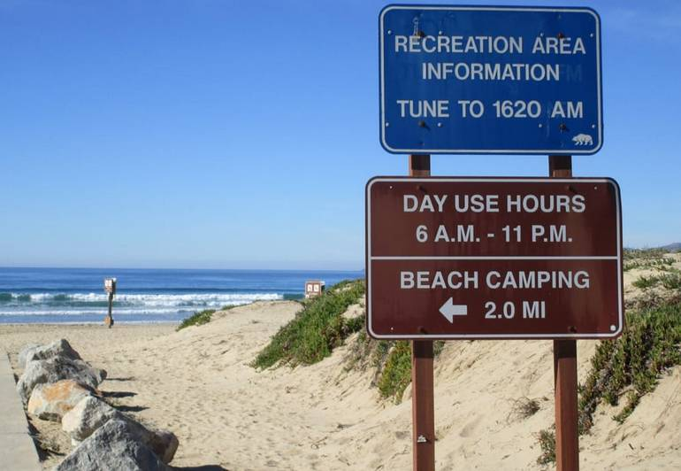 Oceano Dunes Beach Camping