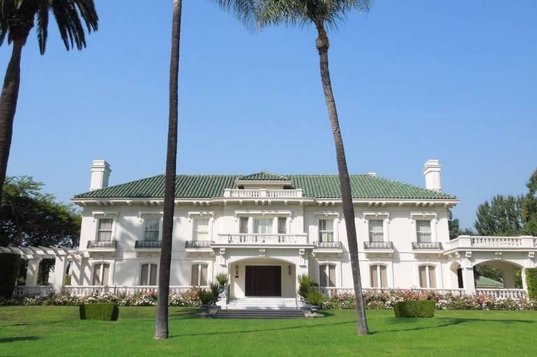 Wrigley Mansion Pasadena California