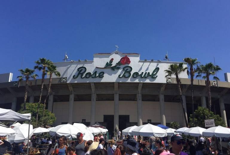 Rose Bowl Flea Market Pasadena California