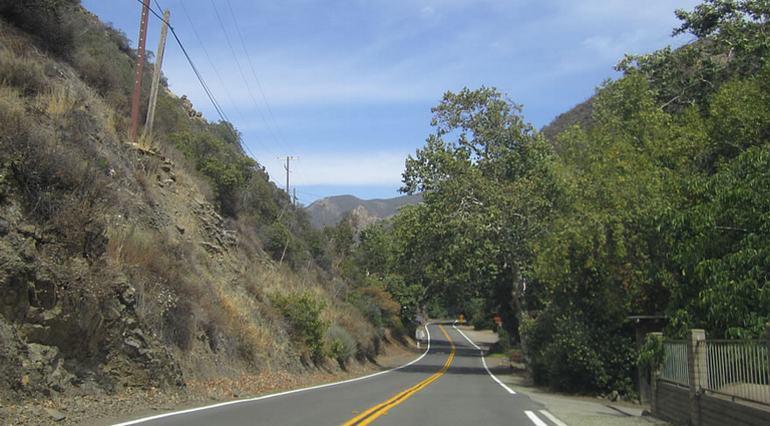 Silverado Canyon Road