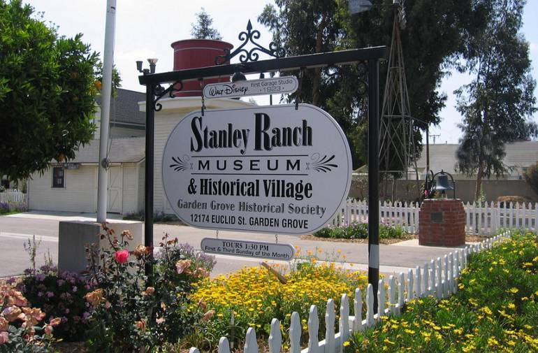 Stanley Ranch Museum garden Grove California