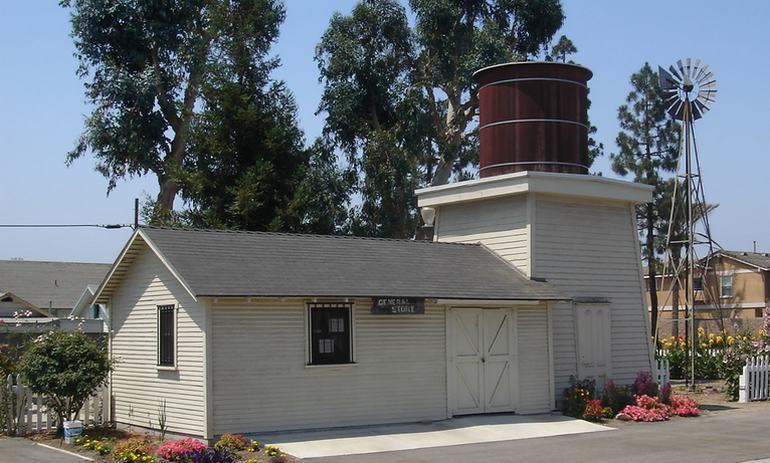 Stanley Ranch Tank House Garden Grove California