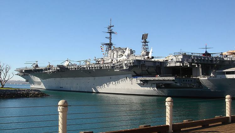 USS Midway Downtown San Diego