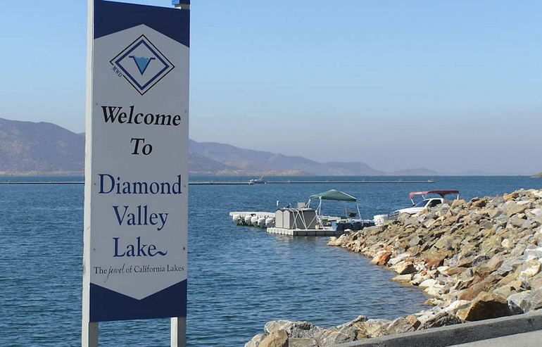 Welcome to Diamond Valley Lake