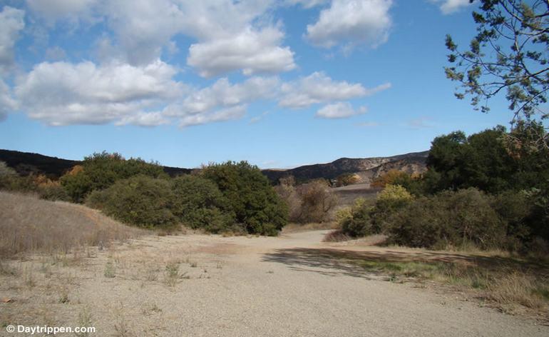 Remains of Malibu Auto Ractrack