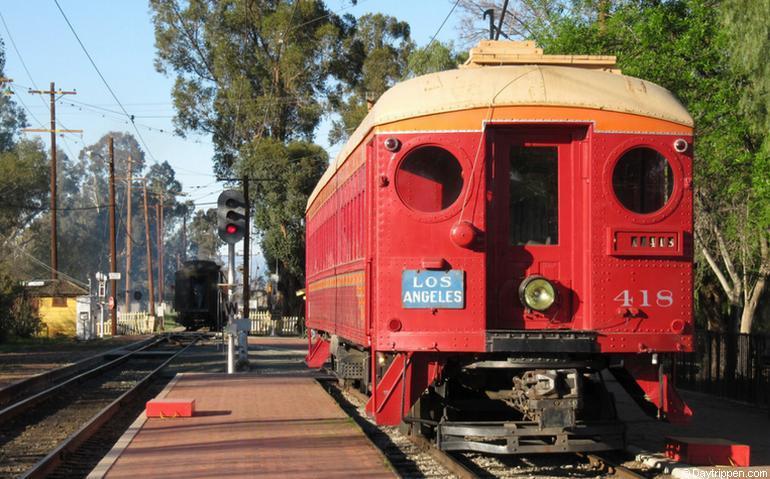 Orange Empire Railway Museum Perris Day Trip