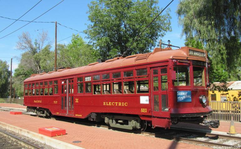 Pacific Electric Red Car Orange Empire Museum