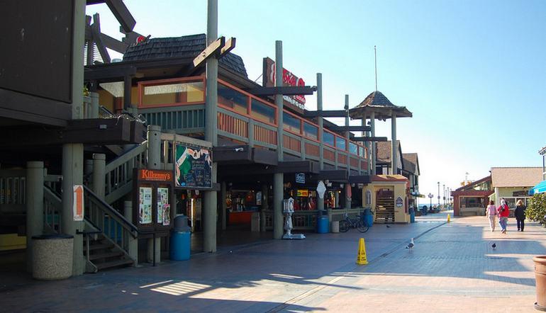 Redondo Beach Pier Boardwalk