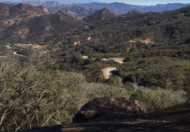 """Mulholland Highway """"Snake"""""""