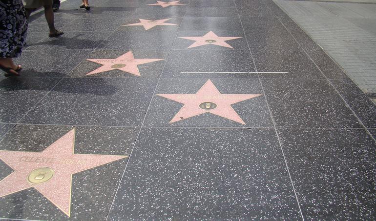 Hollywood Boulevard Walk of Stars