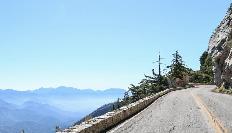 Angeles Crest Highway Southern California Road Trip