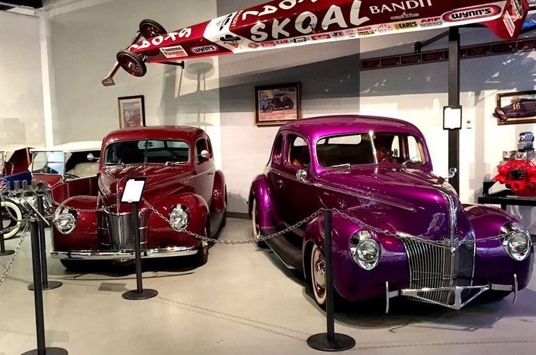 Wally Parks NHRA Motorsports Museum Pomona California