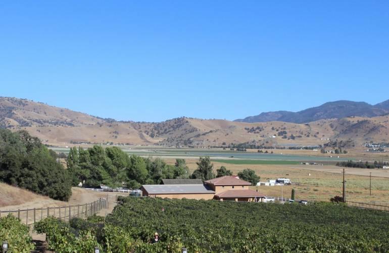 Souza Family Vineyard Tehachapi, California.