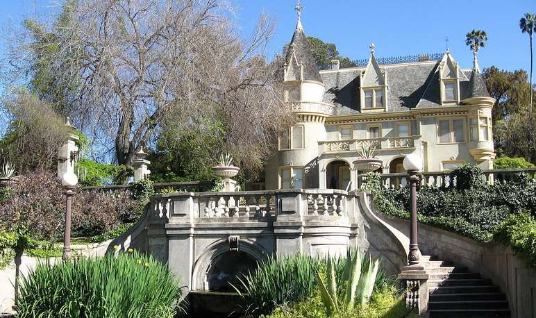 Kimberly Crest House Redlands California