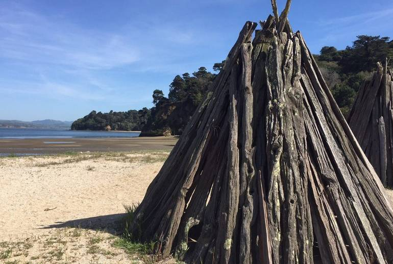 Indian Beach Tomales Bay SP