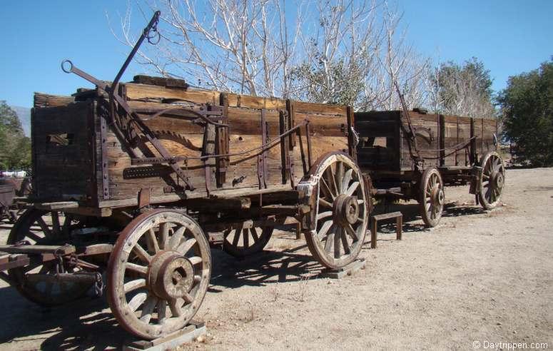 Wagons Eastern California Museum