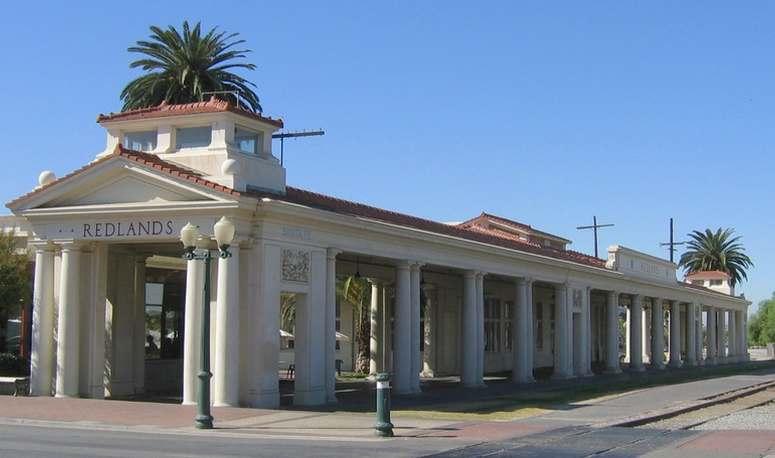 Redlands Santa Fe Depot