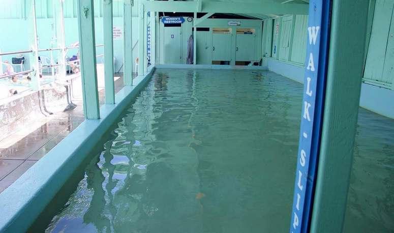 Keough's Hot Springs Hot Pool