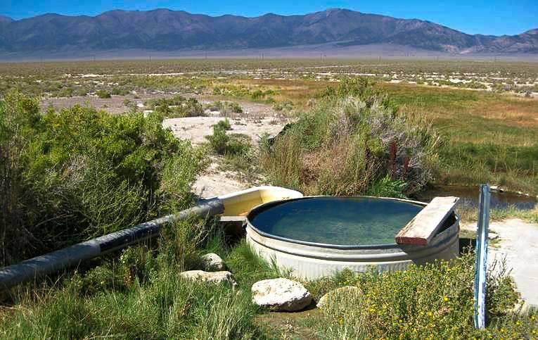 Nevada Natural Hot Springs
