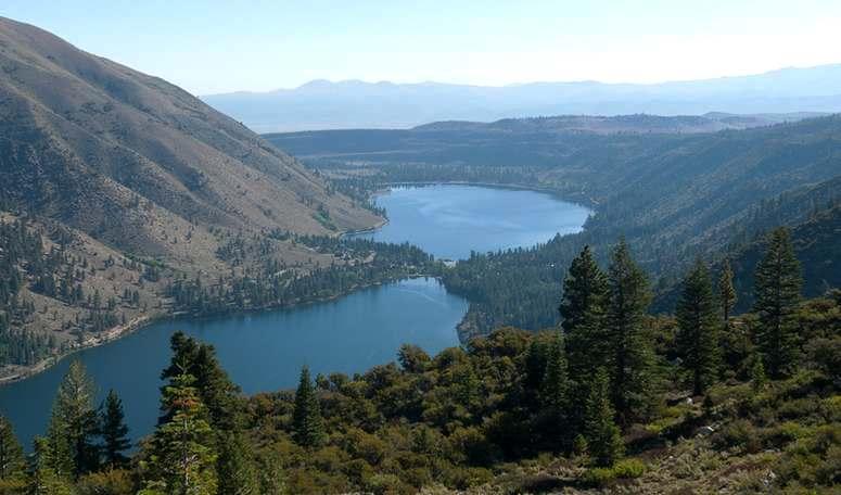 Twin Lakes Bridgeport California High Sierra Trip