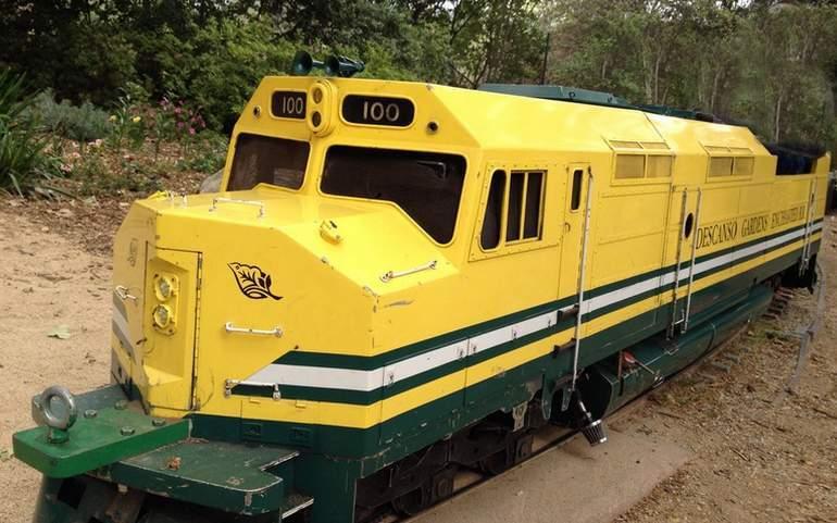 Descanso Garden Enchanted Railroad