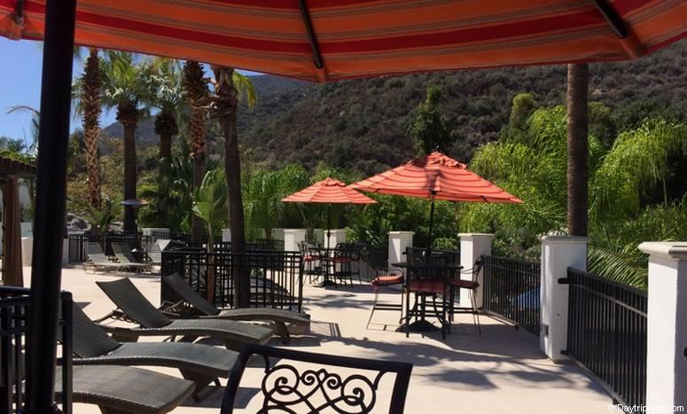 Glen Ivy Hots Springs Cabana