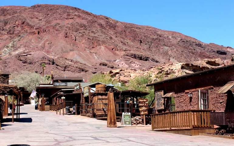 Main Street Calico Ghost Town