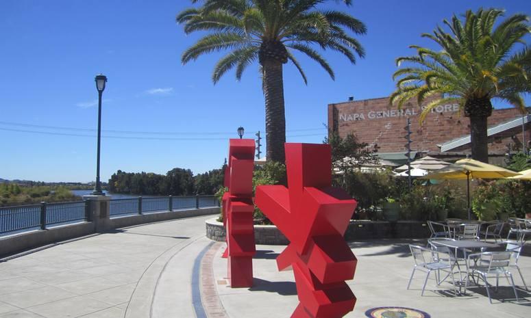 Napa Mill Downtown Napa California