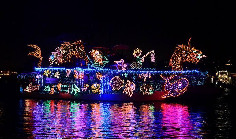 Newport Beach Holiday Lights