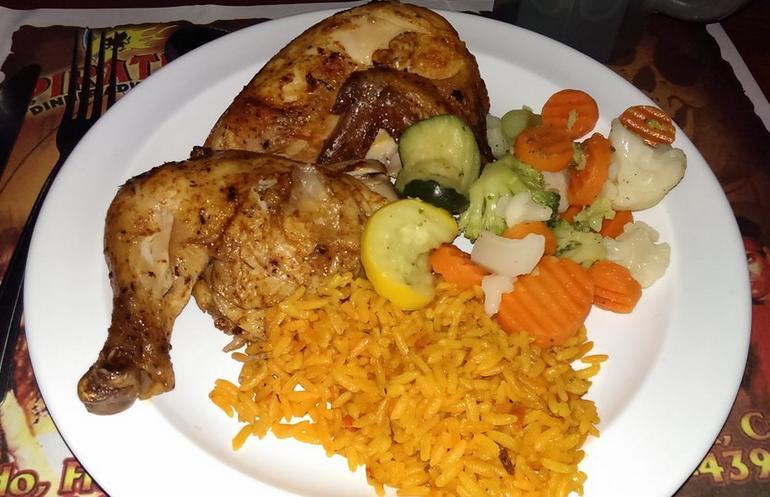 Pirate's Dinner Adventure Chicken Dinner