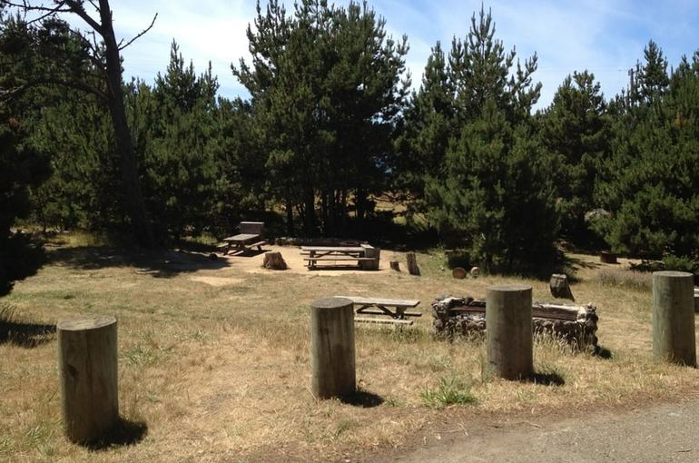 Salt Point State Park Campgrpound