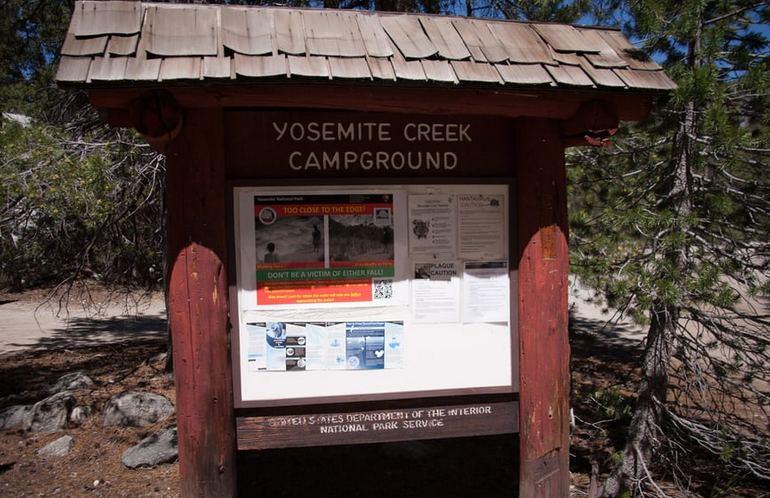 Yosemite Creek Campground Yosemite National Park