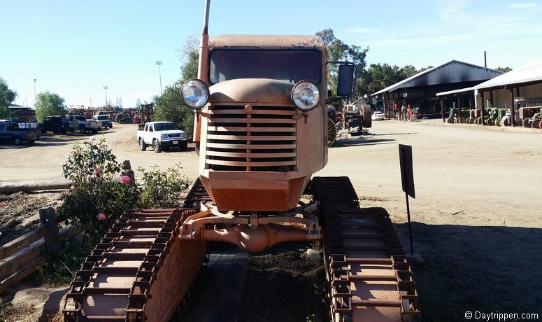 Antique Gas & Steam Engine Museum Arctic Snow Tractor