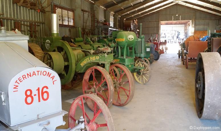 Day Trip Antique Gas & Steam Engine Museum Vista