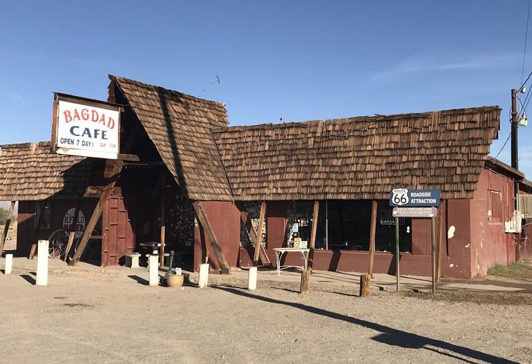 Bagdad Cafe Newberry Springs California