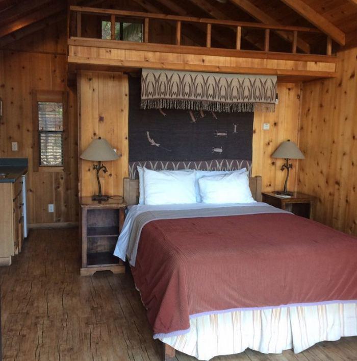 Canyon Cedar Cabins Interior