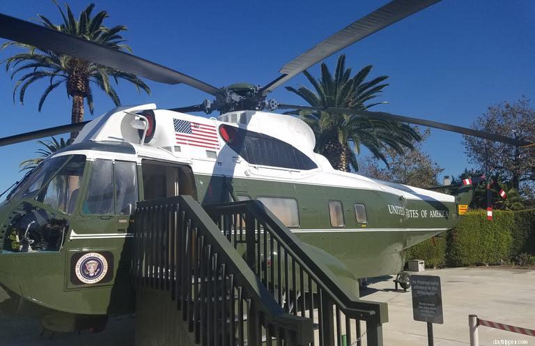 Richard Nixon Library Helicopter