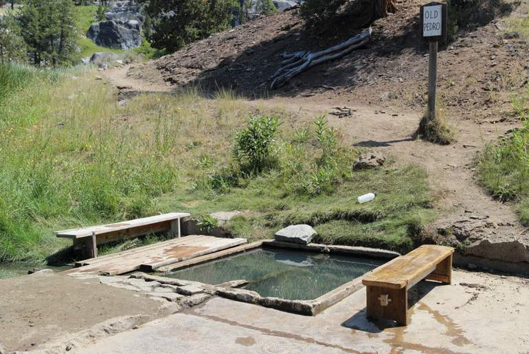 Old Pedro Hot Springs